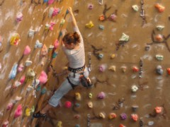 Learn to Climb at the Indoor Climbing wall. @ Inglesport Climbing Wall