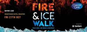 Fire and Ice Walk (in aid of Cancercare Northwest) @ The Wheatsheaf | Ingleton | England | United Kingdom