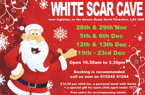 See Father Christmas at White Scar Caves @ White Scar Caves | Ingleton | England | United Kingdom