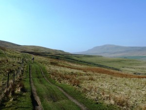 Mountain Biking on Pen-y-Ghent, Ingleton