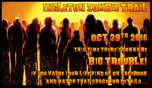 Ingleton Zombie Trail @ Ingleton cricket club | Ingleton | United Kingdom