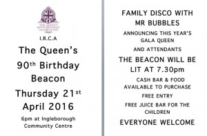 The Queen's birthday celebration - includes lighting the beacon @ Football Field | Ingleton | United Kingdom
