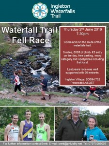Waterfall Trail Fell Race @ Ingleton Waterfalls Trail | Ingleton | England | United Kingdom