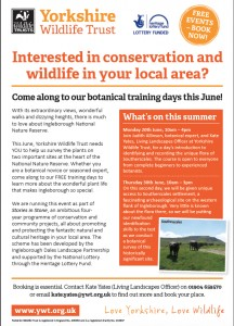 Botanical Training Day @ Southerscales, Ingleborough Nature Reserve