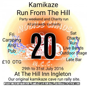 Bike Rally Party Weekend - Kamikaze Run From the Hill @ Old Hill Inn | Chapel-le-Dale | England | United Kingdom