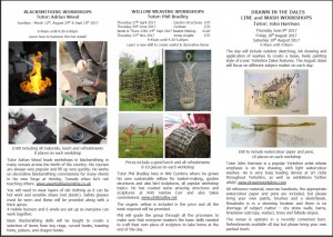Willow Weaving - Square Baskets, 2 Days @ Broadrake | Chapel-le-Dale | England | United Kingdom