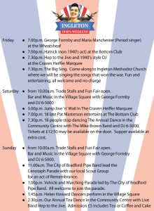 Ingleton 1940s Weekend @ Ingleton village