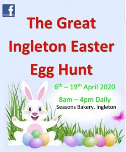 The Great Ingleton Easter Egg Hunt @ Starts from Seasons Bakery | United Kingdom