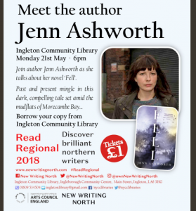 Meet the Author - Jenn Ashworth @ Ingleborough Community Centre Library | Ingleton | England | United Kingdom