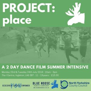 2 Day Dance Film Summer Intensive @ The i-Centre | Ingleton | England | United Kingdom