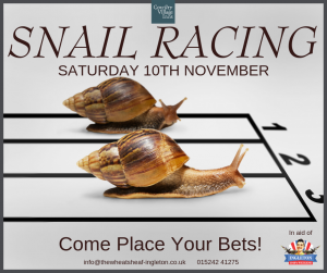 Snail Race (1940s Fundraiser) @ The Wheatsheaf | Ingleton | England | United Kingdom