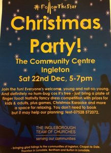 Festive Fun for all the Family @ Ingleborough Community Centre