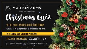 Christmas Quiz - @ The Marton Arms