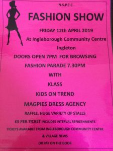 Fashion Show (NSPCC) @ Ingleborough Community Centre
