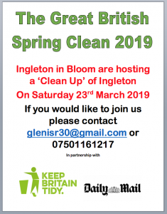 The Great British Spring Clean 2019