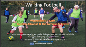 Ingleton Walking Football @ Astroturf Pitch, Ingleton Community Centre