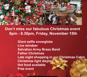 Christmas Event - all welcome @ Country Harvest