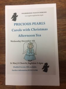 Precious Pearls - Carols with Christmas afternoon tea @ St Mary's Church