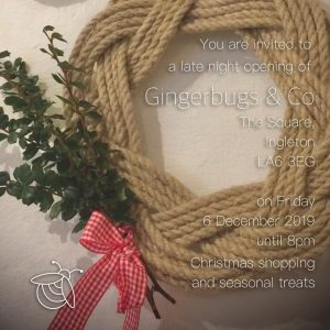 Late night opening - buy and choose your gifts @ Gingerbugs & Co