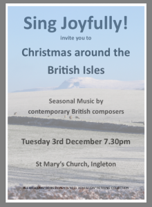 Sing Joyfully - all welcome @ St Mary's Church