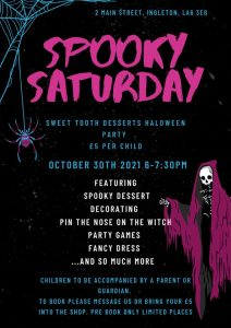 Halloween Party @ Sweet Tooth Desserts