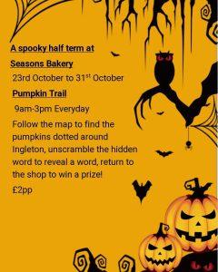 Spooky Pumpkin Trail @ From Seasons Bakery